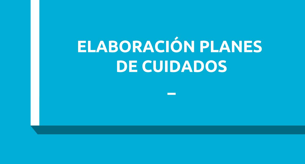 3º CURSO NNN: Elaboración de planes de cuidado con terminología enfermera NANDA-NOC-NIC