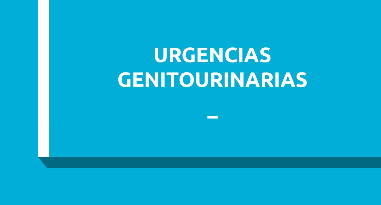 URGENCIAS GENITOURINARIAS