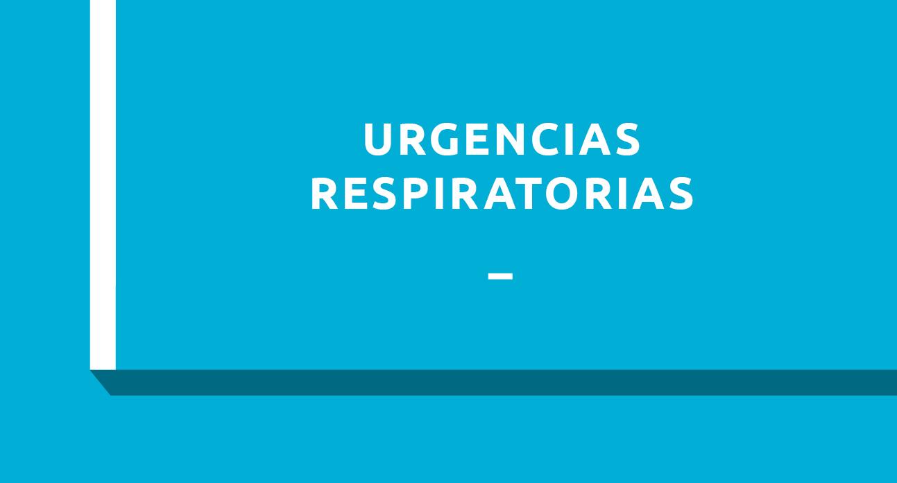 URGENCIAS RESPIRATORIAS - ESTUDIANTES
