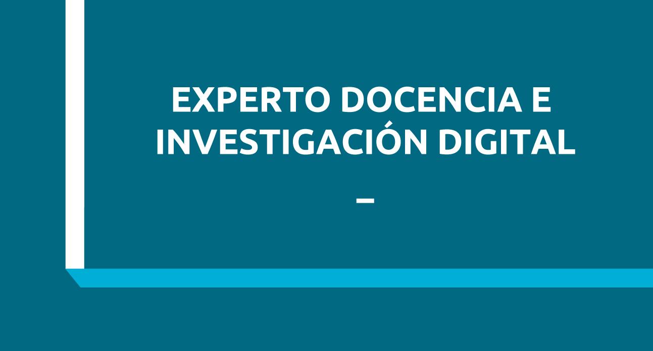 EXPERTO UNIVERSITARIO EN COMPETENCIAS DIGITALES EN DOCENCIA E INVESTIGACIÓN ENFERMERA - HOLLISTER